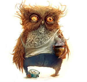 сова+кофе