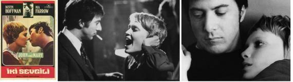 Кинозал: джон и мэри, миа фэрроу, дастин хоффман,питер йетс