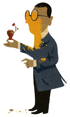 Анимация: Кинозал: изобретатель, l'inventeur, иллюстрации