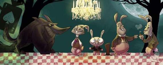Анимация: Кинозал: out of a forest, жизнь вне леса