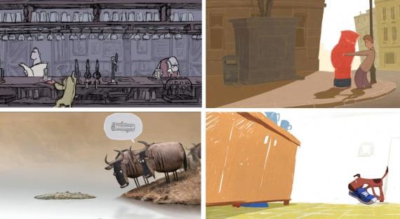 Анимация: Блог им. Chief: bird box studio, короткие мультфильмы, скетчи