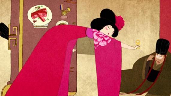 Анимация: Le Banquet de la Concubine by Hefang Wei, сезар 2014