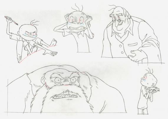 Анимация: мультфильм волшебный мир, эскизы