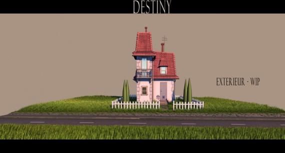 Анимация: Кинозал: destiny, судьба, fabien weibel, making of