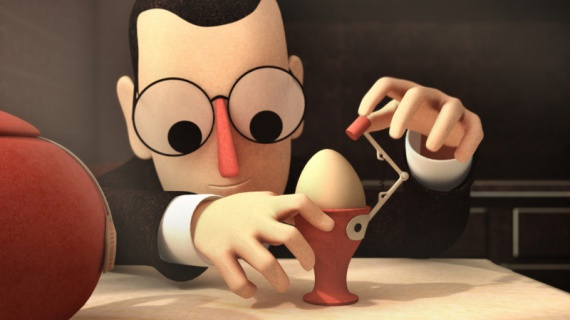 Анимация: Кинозал: изобретатель, l'inventeur