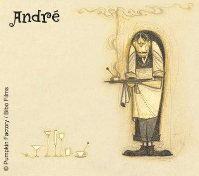 Анимация: Кинозал: французский кофе, french roast