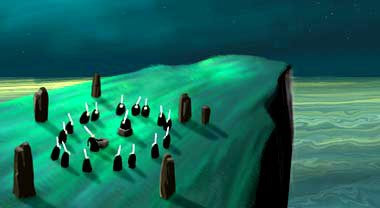 Анимация: миграция блинных ведьм
