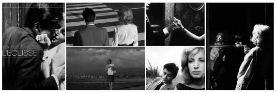 Кинозал: фильм затмение, моника витти, ален делон