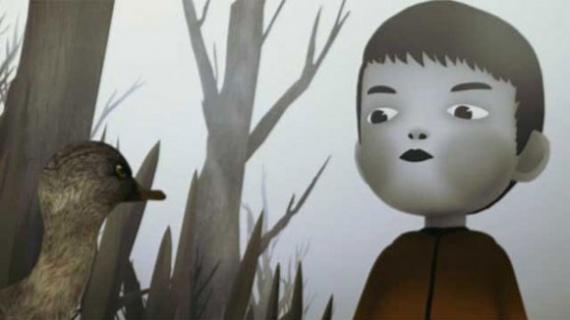 Анимация: Palmipedarium by Jérémy Clapin, сезар 2014