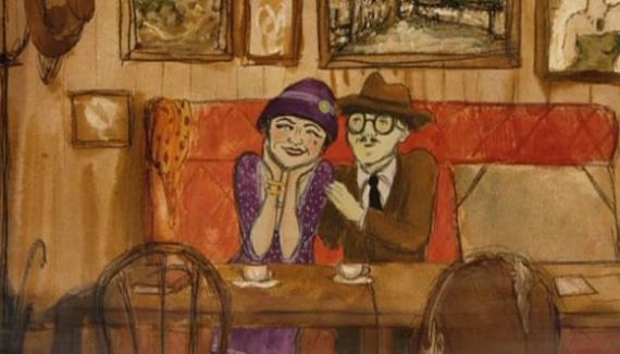 Анимация: Mademoiselle Kiki et les Montparnos by Amélie Harrault, сезар 2014
