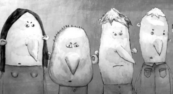 Анимация: La Grosse Bête (The Big Beast) by Pierre Luc Granjon, сезар 2014