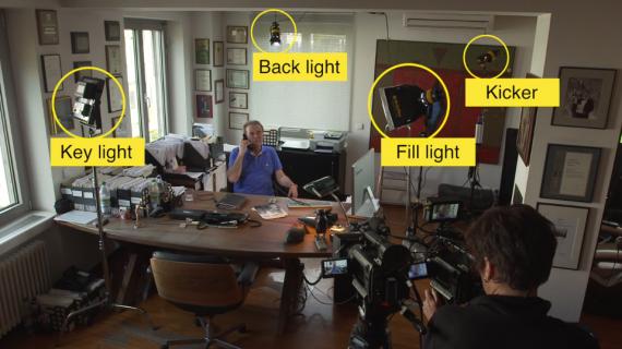 Практика: схемы освещения, естественный свет, усиление естественных источников света